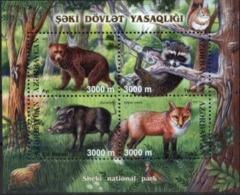 AZERBAIJAN, 2003, FAUNA, MAMMALS, YV#483-86, MNH - Aserbaidschan
