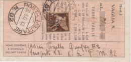 1943 POSTA MILITARE/n.82 C.2 (30.6) Su Polizzino Vaglia - 1900-44 Vittorio Emanuele III