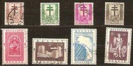 Belgie Belgique 1952 OBCn° 900-907 (°) Oblitéré Used Cote 46 Euro - Used Stamps