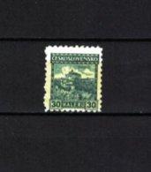 TSCHECHOSLOWAKEI , Czechoslovakia , 1926 , ** , MNH , Postfrisch , Mi.Nr. 246 A - Cecoslovacchia