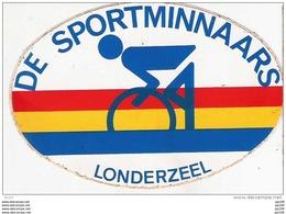Autocollant Publicitaire Localisé  LONDERZEEL De Sportminnaars  Fiets ! - Zonder Classificatie