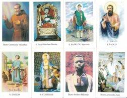 LOTTO N° 8 COMPOSTO DA 8 SANTINI O IMMAGINI RELIGIOSE DIVERSI SUL RETRO LE VARIE PREGHIERE - Religion &  Esoterik