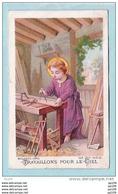 Ancienne Image Pieuse   - Edition BOUASSE LEBEL 29 Rue St Sulpice Paris - Images Religieuses
