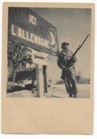 19 MARS 1945 - CARTE NEUVE De PROPAGANDE - ENTREE Des TROUPES FRANCAISES En ALLEMAGNE à SCHEIBENHARDT - Marcophilie (Lettres)