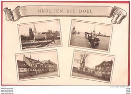 CP DOEL Sur L'Escaut - Aan Schelde  : Groeten Uit DOEL  1934 - Non Classés