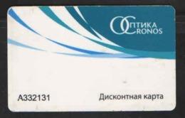 DISCOUNT CARD CRONOS - Rusland