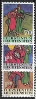 Liechtenstein N1245 à 1247** - Liechtenstein