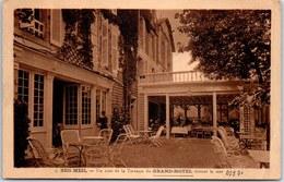 29 BEG MEIL - Le Grand Hotel, Vue Partielle De La Terrasse - Beg Meil