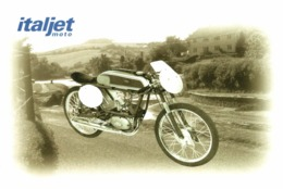 Italjet Vampiro 50cc. Moto MOTOCROSS MOTORCYCLE Douglas J Jackson Archive Of Motorcycles - Motos