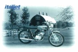 Italjet Buccaneer 125cc. Moto MOTOCROSS MOTORCYCLE Douglas J Jackson Archive Of Motorcycles - Motos