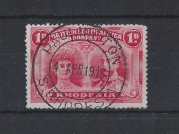 "RHODESIA...KING GEORGE V.(1910-36)..."" DOUBLE HEAD..""....1d......SUPER PAULINGTON  CDS POSTMARK....VFU..... - Rhodésie Du Sud (...-1964)"