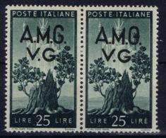 Italy: AMG-VG Sa 19  Closed G In VG MH/* Flz/ Charniere - Ongebruikt