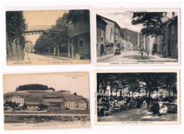 07 - ARDECHE. LOT DE 74 CARTES VILLES VILLAGES PAYSAGES TOUTES SCANNEES. - Postcards