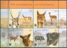 Argentine - 2002 - Yt 2320/2323 - Protection De La Nature - Faune - ** - Nuevos