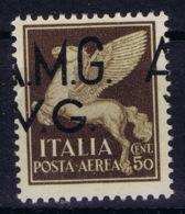 Italy: AMG-VG Sa PA 1  Horizontal Displaced Surcharge  MH/* Flz/ Charniere - Ongebruikt
