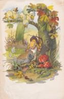 Illustrateur KOEN  - GNOMES - CHAMPIGNONS -  (lot Pat 85) - Illustrateurs & Photographes