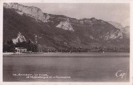 Annecy (74) - La Plage - Le Téléphérique Et La Tournette - Annecy