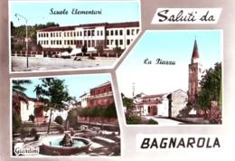 Bagnarola Di Sesto Al Renghena (PN) 3 Vedute  Anni '60 Acquerellata - Andere Städte