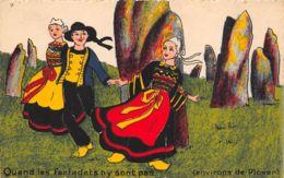 Non Signé (Illustrateur) - Quand Les Farfadets N'y Sont Pas - Environs De Plovan - 1900-1949