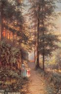 Illustrateur (Fantaisie) - Harz - Weg Z. Molkenhaus - Harz Series - Oilette - Illustrateurs & Photographes