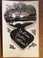Cpsm, CROATIE, PULA, Sretna Nova Godina (Bonne Année), Foto Orel Pula, écrite En 1963, Timbre - New Year