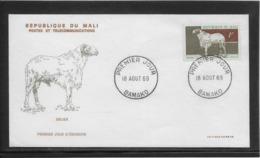 Thème Animaux - Mouton - Mali - Enveloppe - Ferme