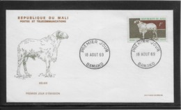 Thème Animaux - Mouton - Mali - Enveloppe - Farm