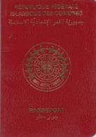 COMOROS COMORES COMORO ISLAND 2000 PASSPORT FISCAL / FISCAUX REVENUE STAMPS - Documenti Storici