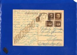 ##(DAN1910)-30-5-1945-Cartolina Postale Vinceremo Cent 30 Da Catania Per Ali Marina (Messina), In Tariffa L.1,20 - 5. 1944-46 Luogotenenza & Umberto II