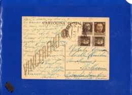 ##(DAN1910)-30-5-1945-Cartolina Postale Vinceremo Cent 30 Da Catania Per Ali Marina (Messina), In Tariffa L.1,20 - 1944-46 Lieutenance & Humbert II