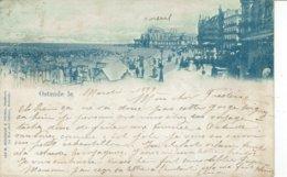 OOSTENDE-OSTENDE- DIGUE ET PLAGE-1899 - Oostende
