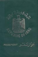 IRAQ IRAK REPUBLIC 1976 PASSPORT FISCAL / FISCAUX REVENUE STAMPS - Documenti Storici