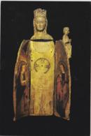 MASSIAC CANTAL VIERGE OUVRANTE BOIS POLYCHROME - Frankreich