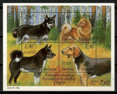 Finland 1989 Finlandia / Dogs MNH Hunde Perros Chiens / Cu14035  C5-13 - Perros