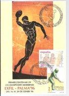 POSTMARKET    ESPAÑA  1996 - Juegos Olímpicos