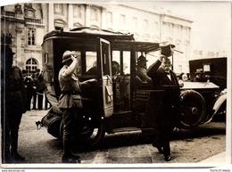 PHOTO ORIGINALE 1919 [17X13] PARIS - Fêtes De La Victoire - Arrivée De Georges Clémenceau - Krieg, Militär