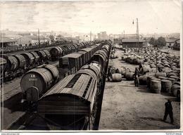 PHOTO ORIGINALE 1914-1918 [17X13] Quai De La Gare De Béziers Réquisitionné - Krieg, Militär