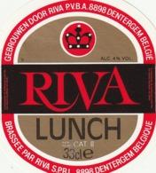 1 ETIKET RIVA LUNCH 33 Cl - Beer