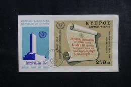CHYPRE - Enveloppe FDC En 1968 - Droits De L 'Homme - L 44829 - Cartas