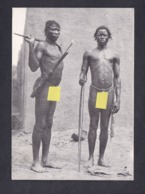 CPSM Serie Nus Exotiques Guerriers Bobo  ( Homme Nu Ethnique Nude TL 500 Ex Imp. H.L Chalons ) - Süd-, Ost-, Westafrika