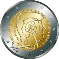 Netherlands. 2 Euro. 200 Years Of The Monarchy. UNC. 2013 - Nederland