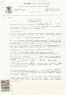 Belgio. 1968. Marca Da Bollo Da 200 F,  Su Documento. - Revenue Stamps