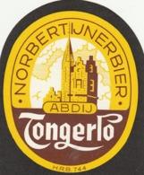 1 ETIKET NORBERTIJNENBVIER TONGERLO - Beer
