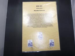 "BELG.2002 3097 FILATELIC CARD  1°dag/jour Cachet/stempel & Signé ""GUILLAUME BROUX"" - FDC"
