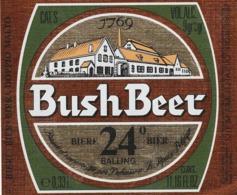 2 ETIKETTEN BUSCH BEER - Beer