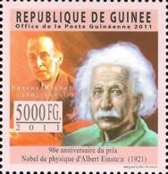 Guinee Nobel Prix Eugene Wigner 1v Stamp MNH Michel:8444 - Famous People