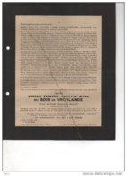 Robert Du Bois De Vroylande Epoux Gilliot Prisonnier Politque °1907 + 16/12/1944 Camp Concentration Ellrich Louvain WOII - Esquela