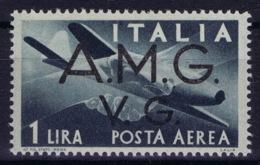 Italy: AMG-VG Sa PA 1  Broken G In VG MH/* Flz/ Charniere - Ongebruikt