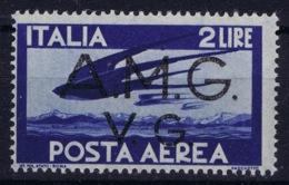 Italy: AMG-VG Sa PA 2  Broken G In VG MH/* Flz/ Charniere - Ongebruikt
