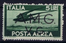 Italy: AMG-VG Sa PA 3 Broken G In VG MH/* Flz/ Charniere - Ongebruikt